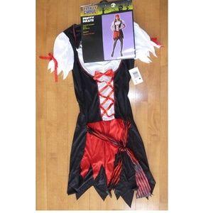 Womens PRETTY PIRATE Buccaneer costume Size M 6/8